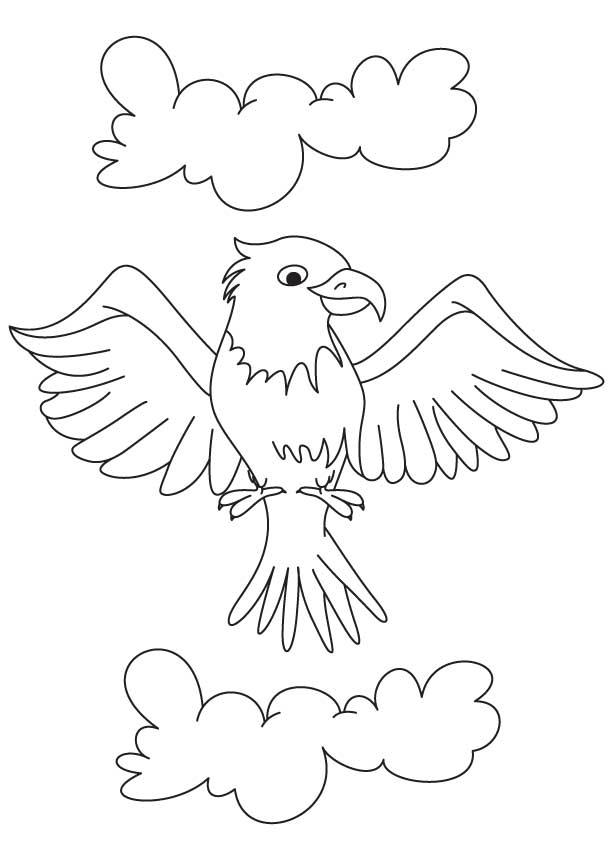 Coloriage Aigle #306 (Animaux) - Album de coloriages