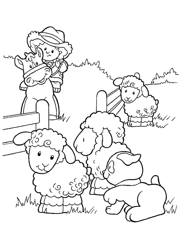 Coloriage Animaux de la ferme #21414 (Animaux) - Album de ...