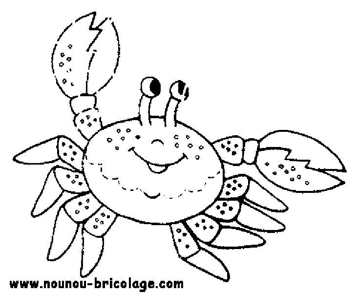 Coloriage Animaux marins #15 (Animaux) - Coloriages à imprimer