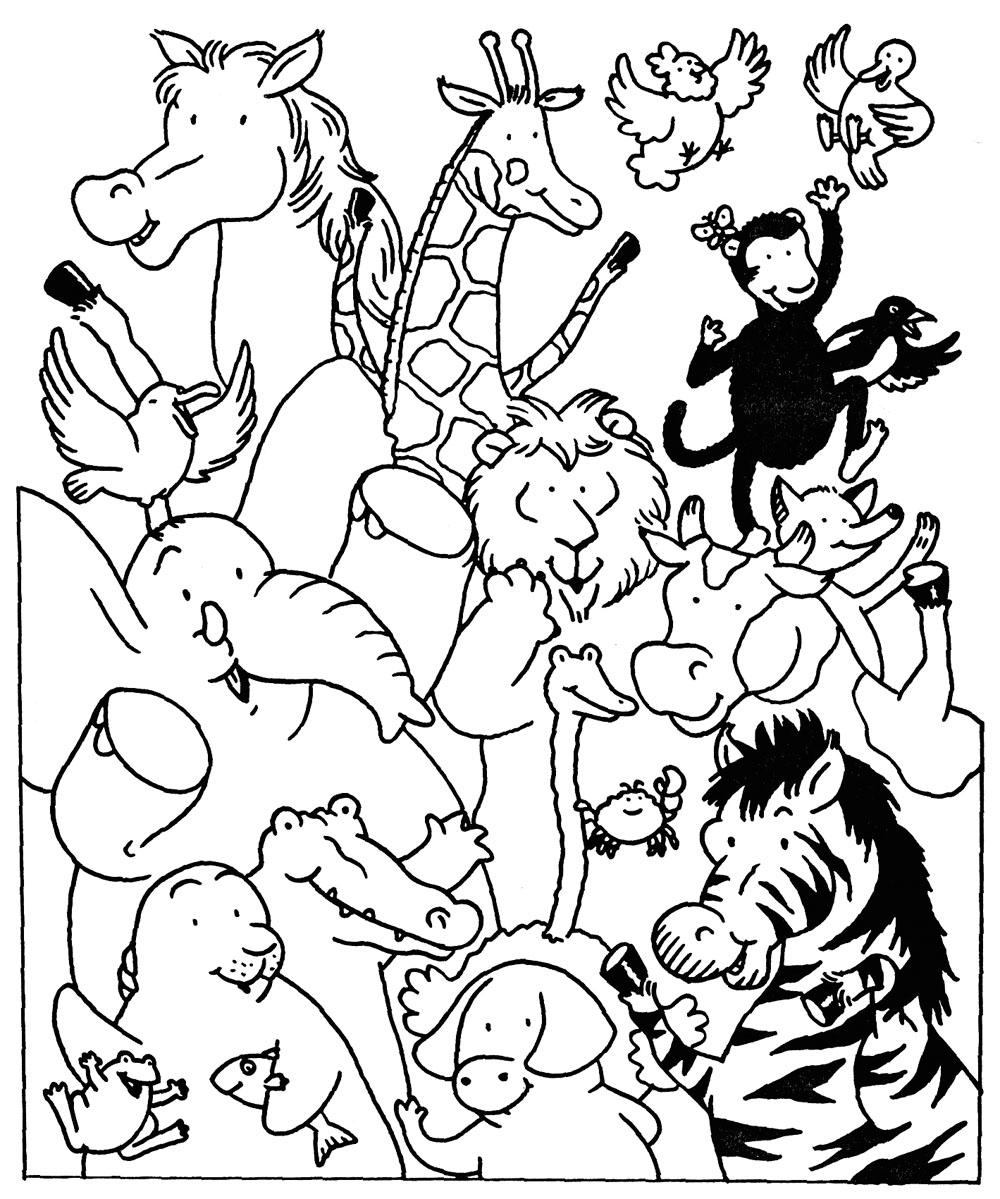Coloriage Animaux marins #133 (Animaux) - Coloriages à imprimer