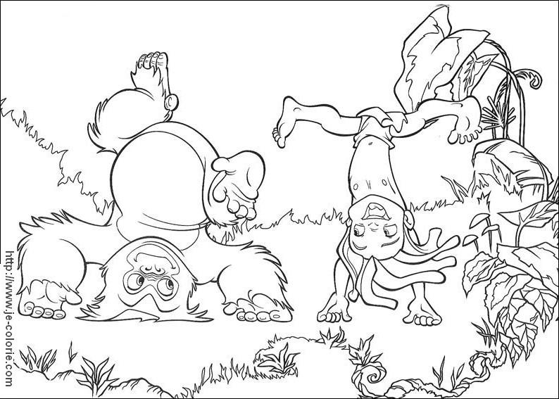 Coloriage Animaux sauvages / de la jungle #21243 (Animaux ...