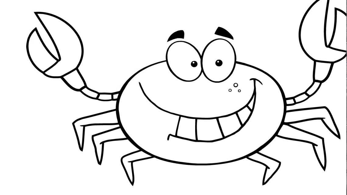 Coloriage Crabe #99 (Animaux) - Coloriages à imprimer