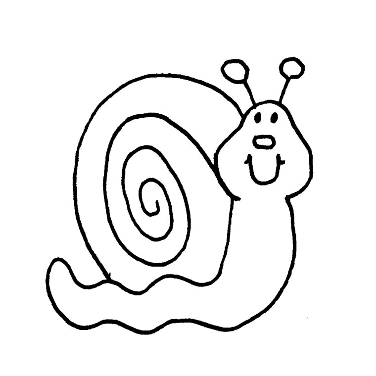 Coloriages Escargot Animaux Album De Coloriages