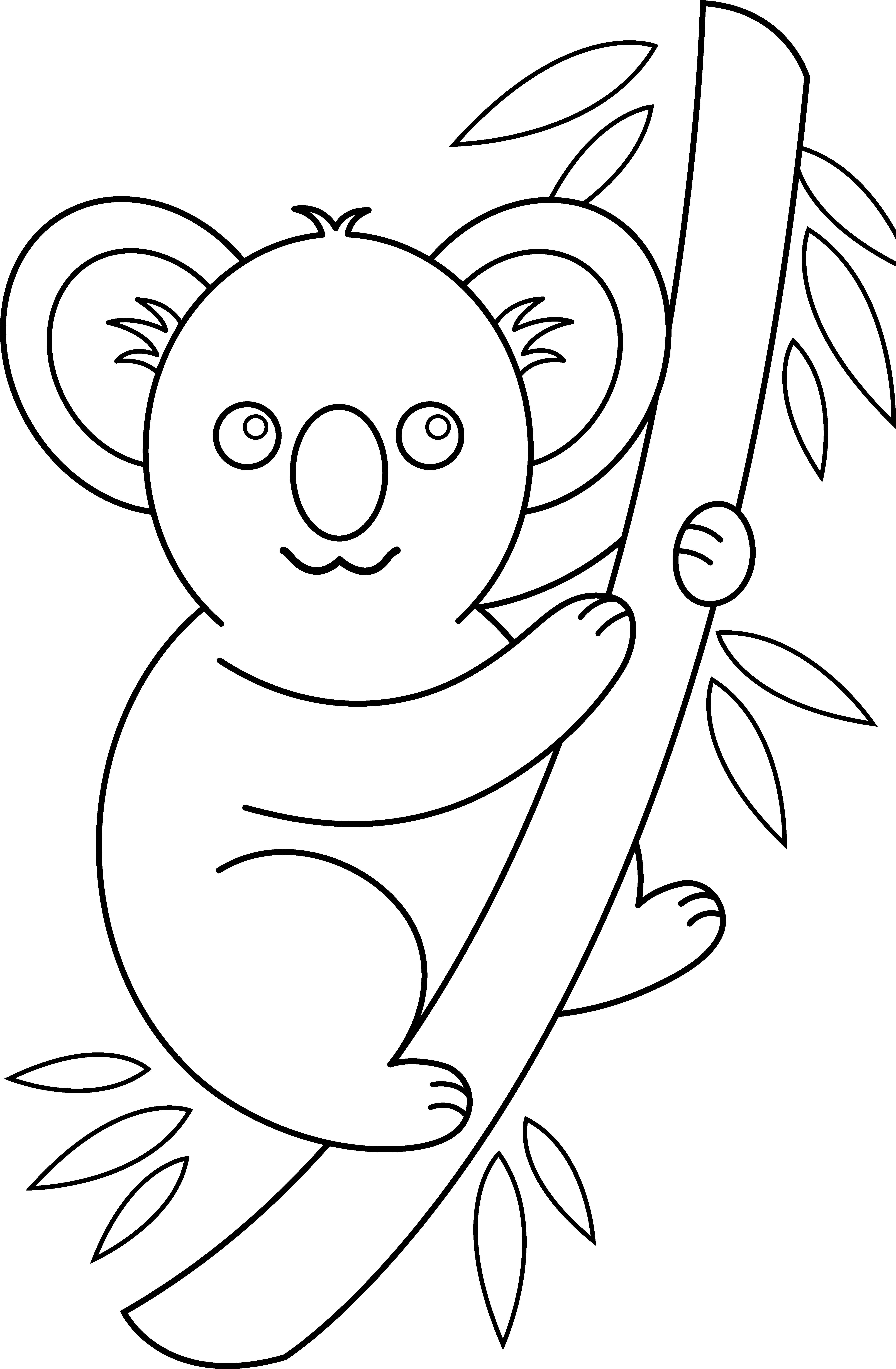 Coloriage Koala #9361 (Animaux) - Album de coloriages