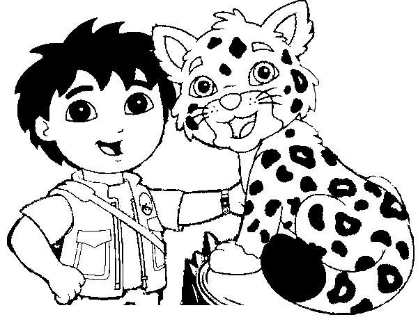 Coloriage Léopard #42 (Animaux) - Coloriages à imprimer