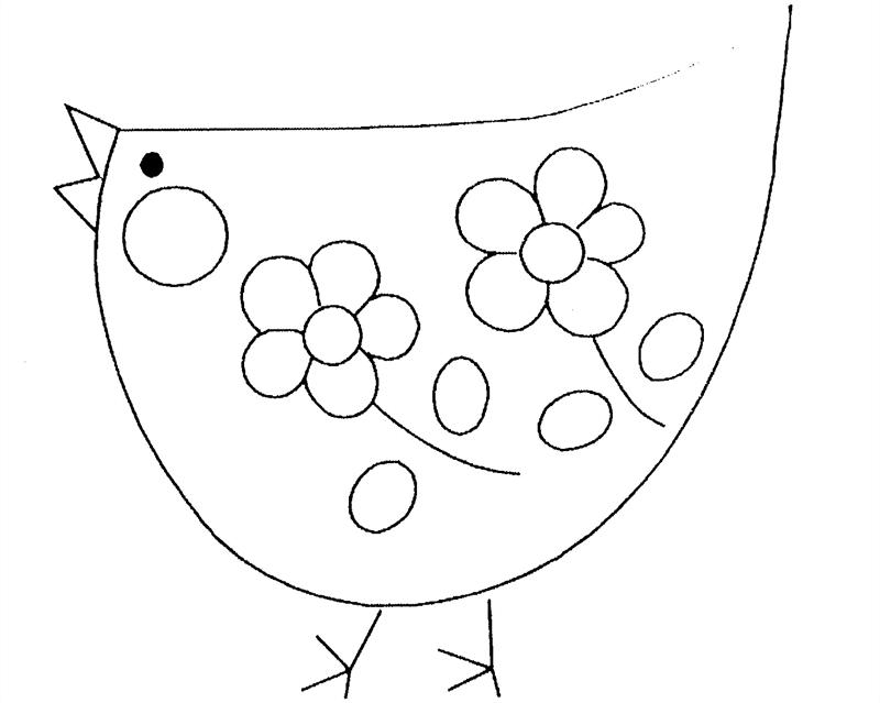 Coloriage Poule #49 (Animaux) - Coloriages à imprimer