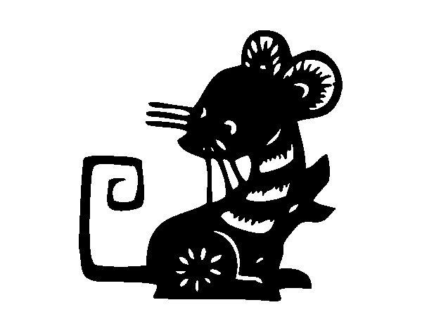 Coloriage Rat #15203 (Animaux) - Album de coloriages
