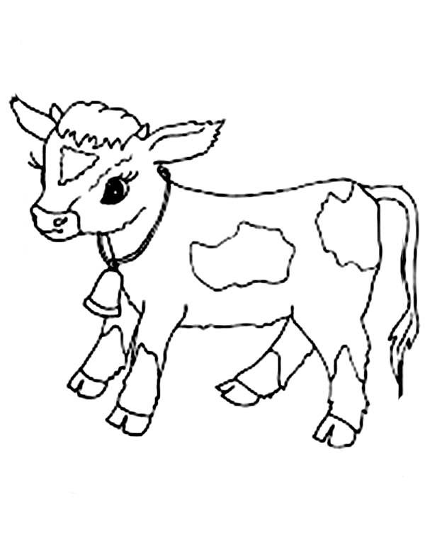 Coloriage Vache #67 (Animaux) - Coloriages à imprimer