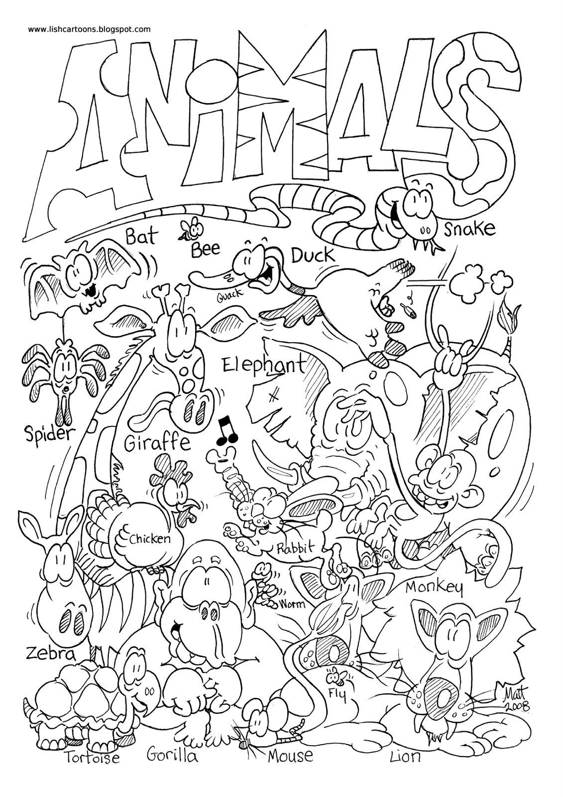Coloriage Zoo #88 (Animaux) - Coloriages à imprimer