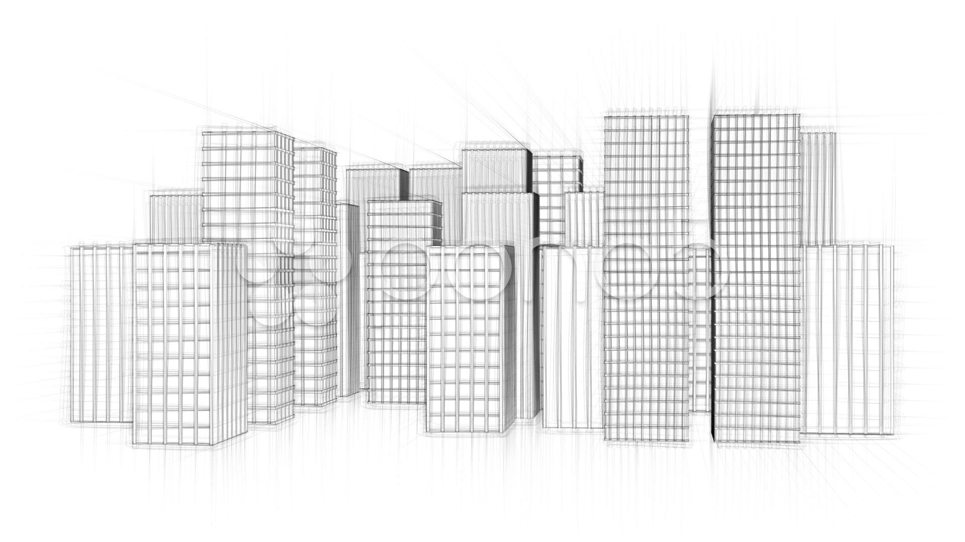 Coloriage Gratte-ciel #65887 (Bâtiments et Architecture ...
