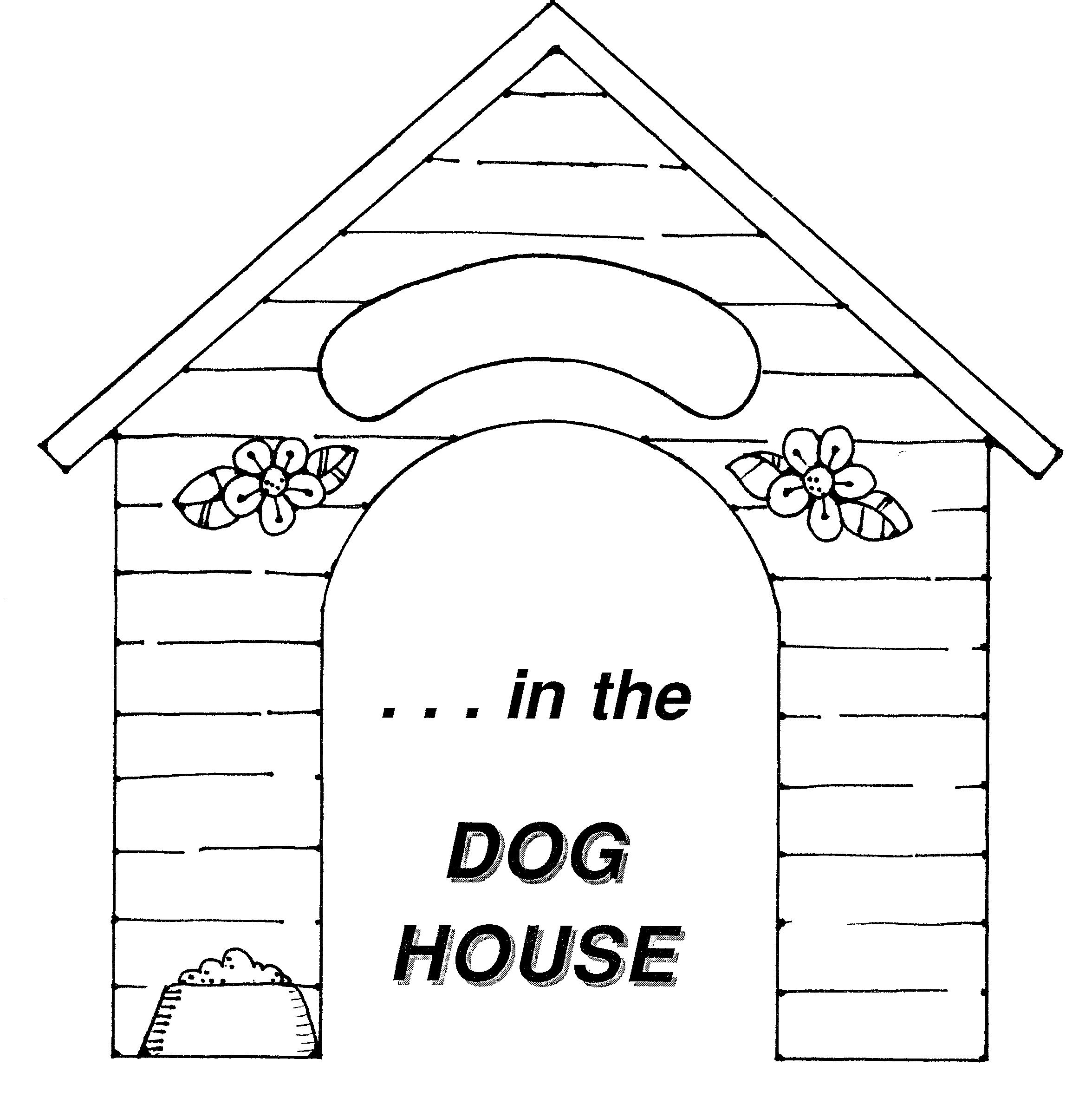Coloriage Niche à chien #13 (Bâtiments et Architecture ...