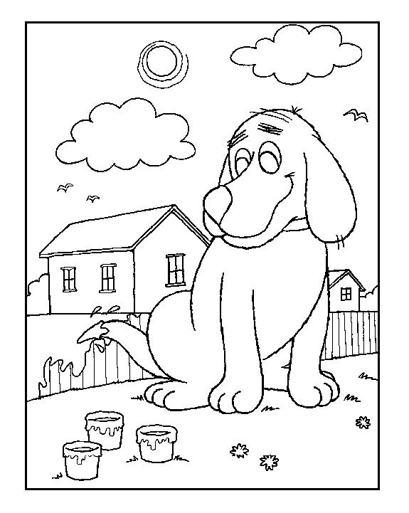 Coloriage Niche à chien #62433 (Bâtiments et Architecture ...