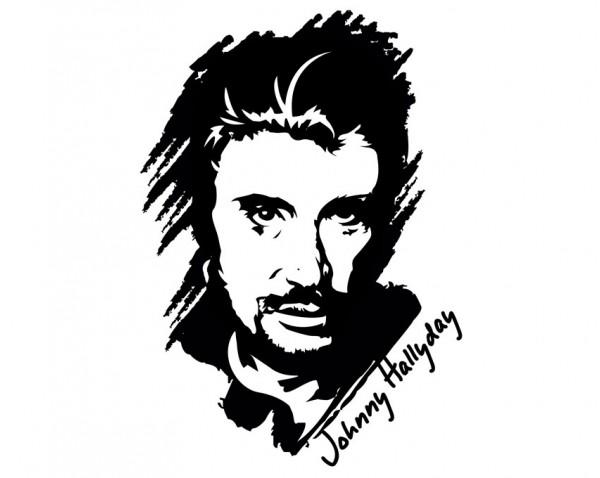 Coloriage Johnny Hallyday 123121 Celebrites Album De Coloriages