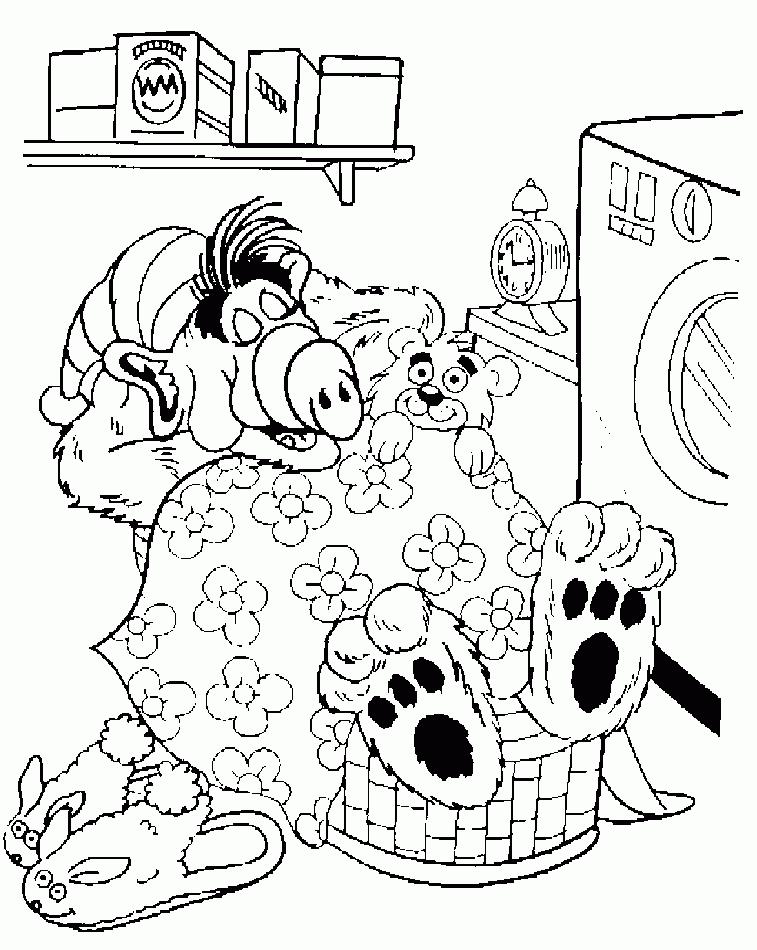 Coloriage Alf #33676 (Dessins Animés) - Album de coloriages