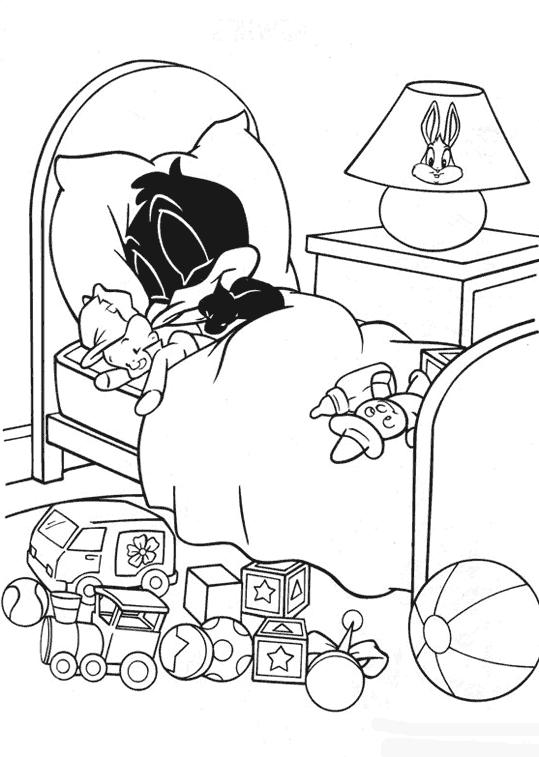 Coloriage Baby Looney Tunes #26530 (Dessins Animés ...