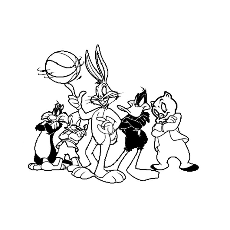 Coloriage Baby Looney Tunes #26622 (Dessins Animés ...