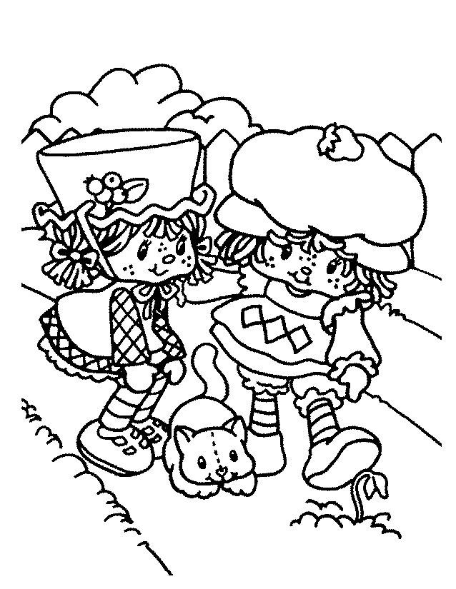 Coloriage Charlotte aux fraises / Fraisinette #35543 ...