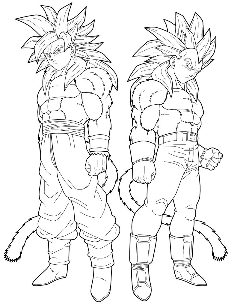 Coloriages Dragon Ball Z Dessins Animes Album De Coloriages