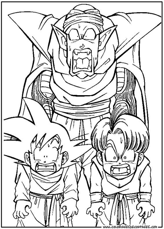 Coloriage Dragon Ball Z #303 (Dessins Animés) - Coloriages ...