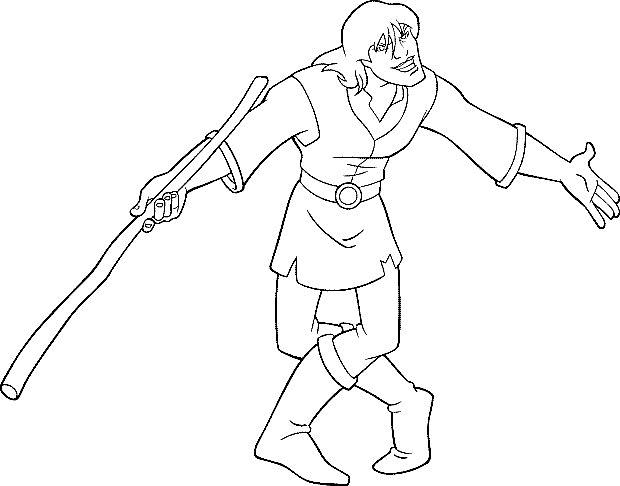 Coloriage Excalibur, l'épée magique #41767 (Dessins Animés ...
