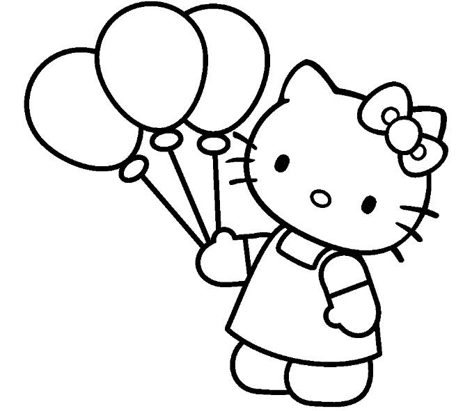 Coloriages Hello Kitty Dessins Animes Album De Coloriages