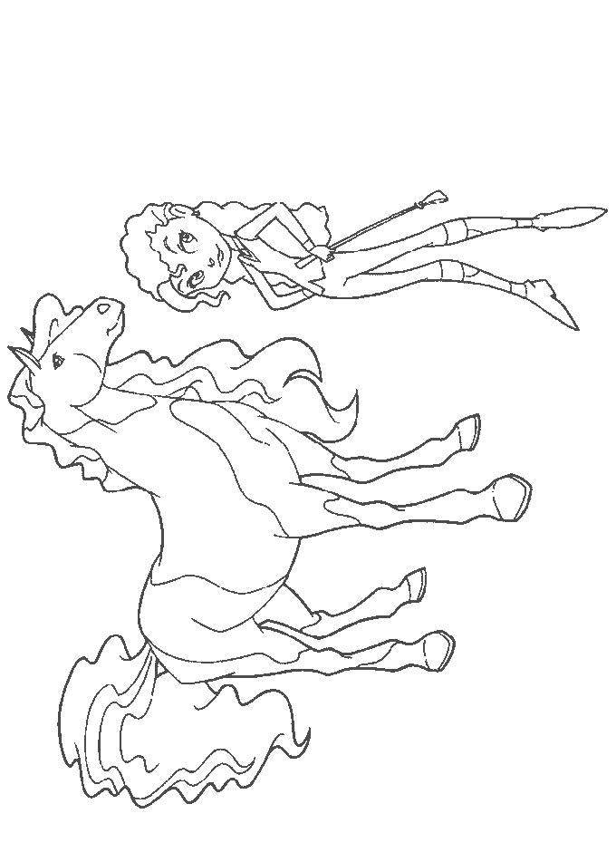 Coloriage Horseland #53934 (Dessins Animés) - Album de ...
