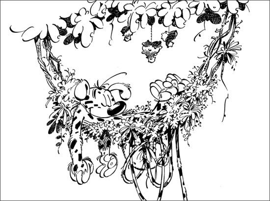 Coloriage Marsupilami #50148 (Dessins Animés) - Album de ...