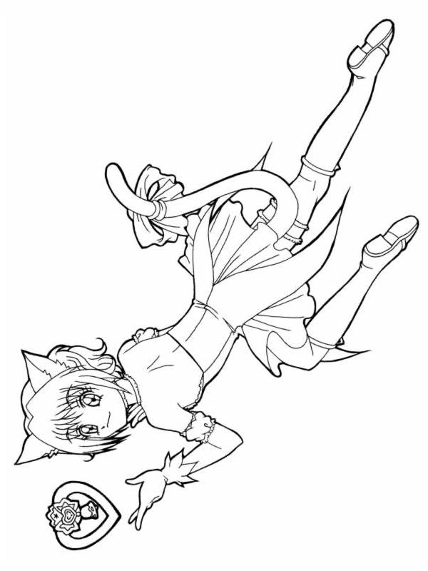 Coloriage Mew Mew Power #16 (Dessins Animés) - Coloriages ...