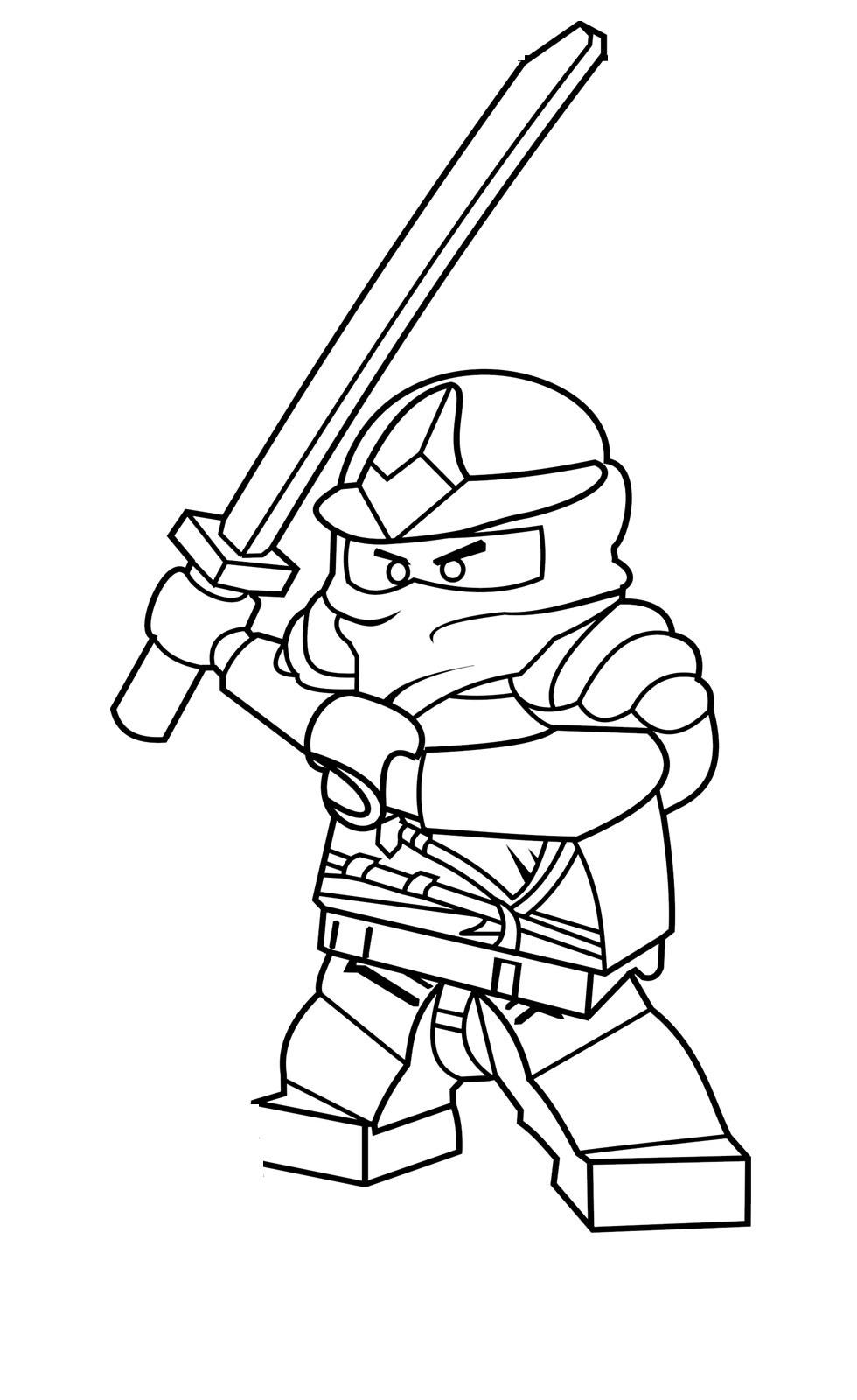 Coloriage Ninjago #5 (Dessins Animés) - Coloriages à imprimer