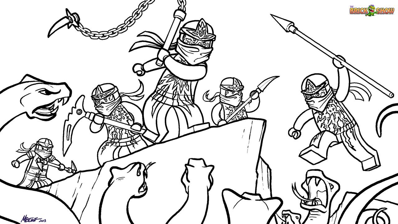 Coloriage Ninjago #23991 (Dessins Animés) - Album de ...