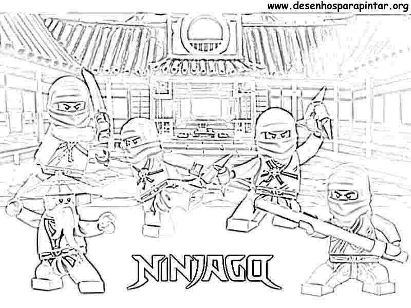 Coloriages Ninjago Dessins Animes Album De Coloriages