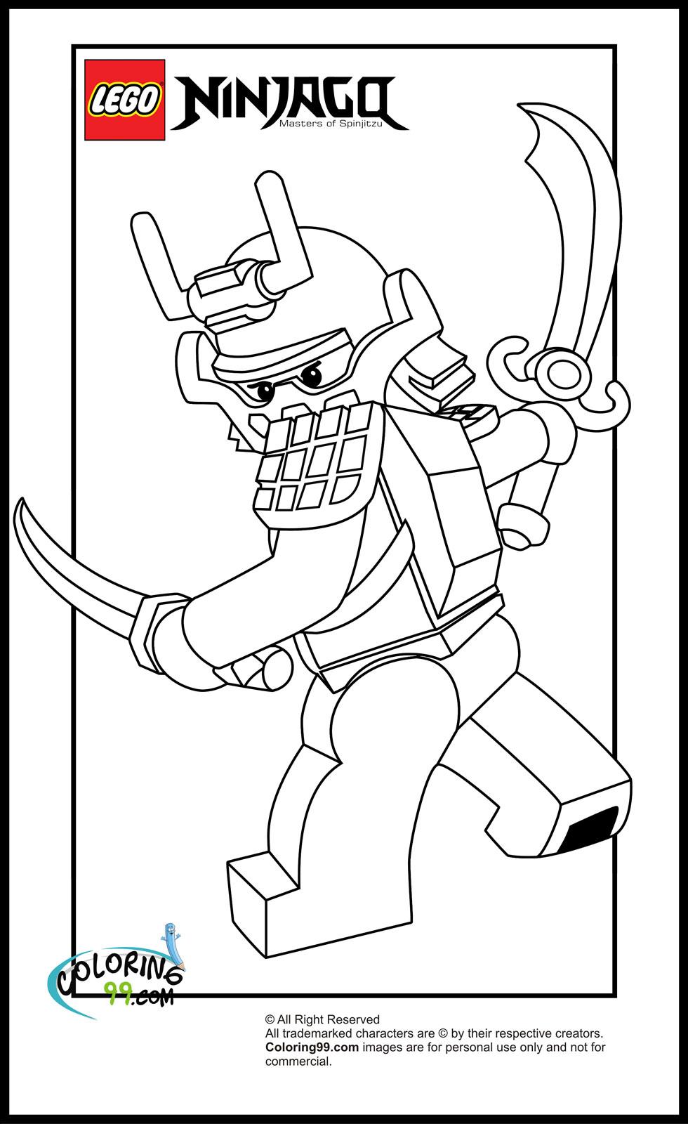 Coloriage Ninjago #34 (Dessins Animés) - Coloriages à imprimer