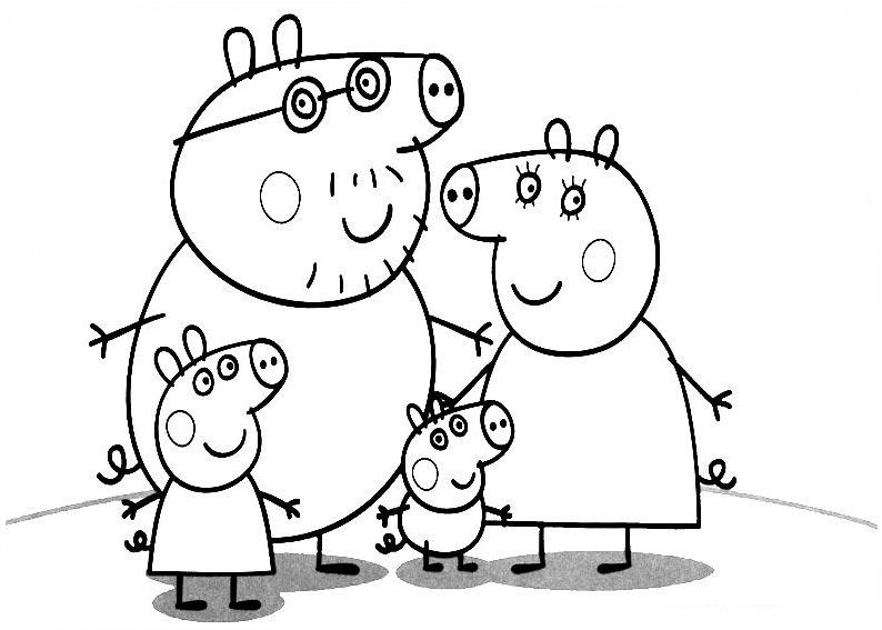 Coloriage Peppa Pig #26 (Dessins Animés) - Coloriages à ...