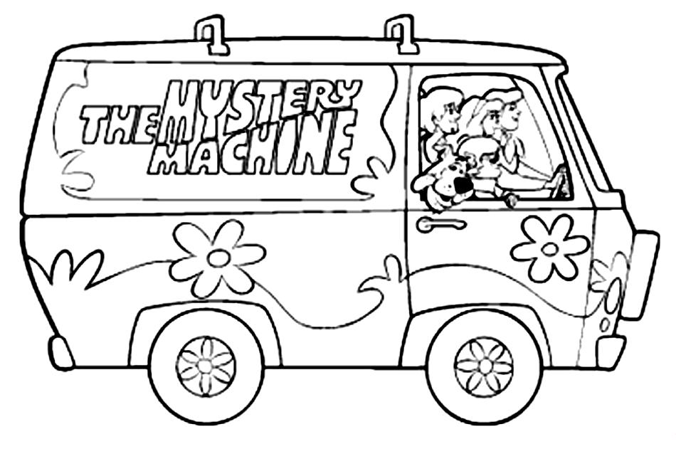 Coloriage Scooby doo #161 (Dessins Animés) - Coloriages à ...