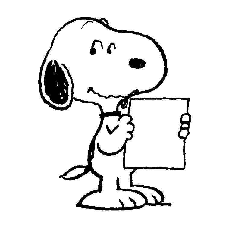 Coloriages Snoopy (Dessins Animés) - Coloriages à imprimer
