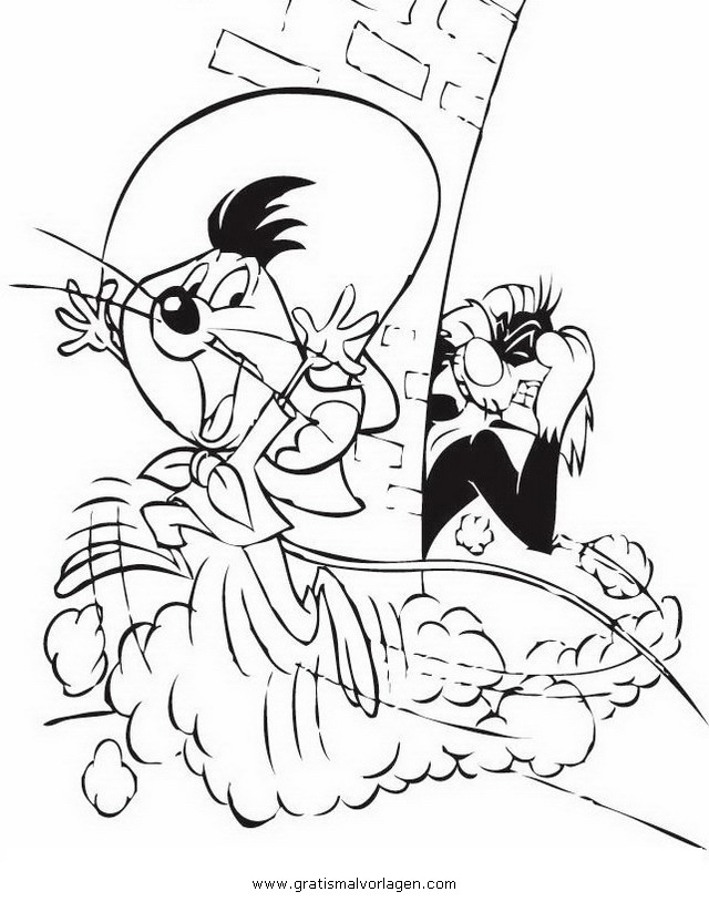 Coloriage Speedy Gonzales #23 (Dessins Animés ...