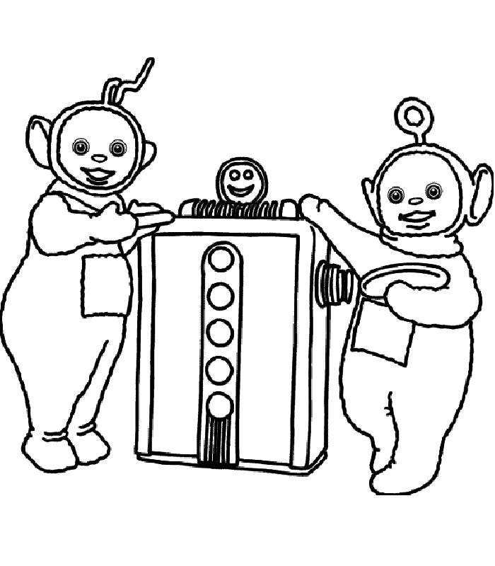 Coloriage Télétubbies #49827 (Dessins Animés) - Album de ...