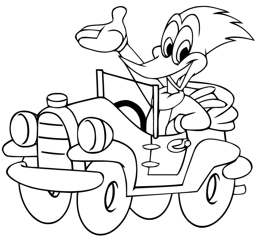 Coloriage Woody Woodpecker #28442 (Dessins Animés) - Album ...