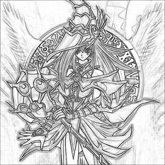 Coloriages Yu Gi Oh Dessins Animes Album De Coloriages
