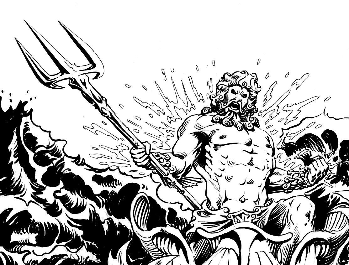 Coloriage Mythologie Grecque #12 (Dieux et Déesses ...