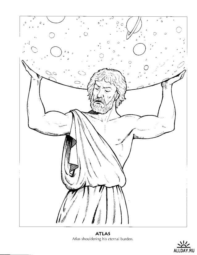 Coloriage Mythologie Grecque #109639 (Dieux et Déesses) - Album de coloriages