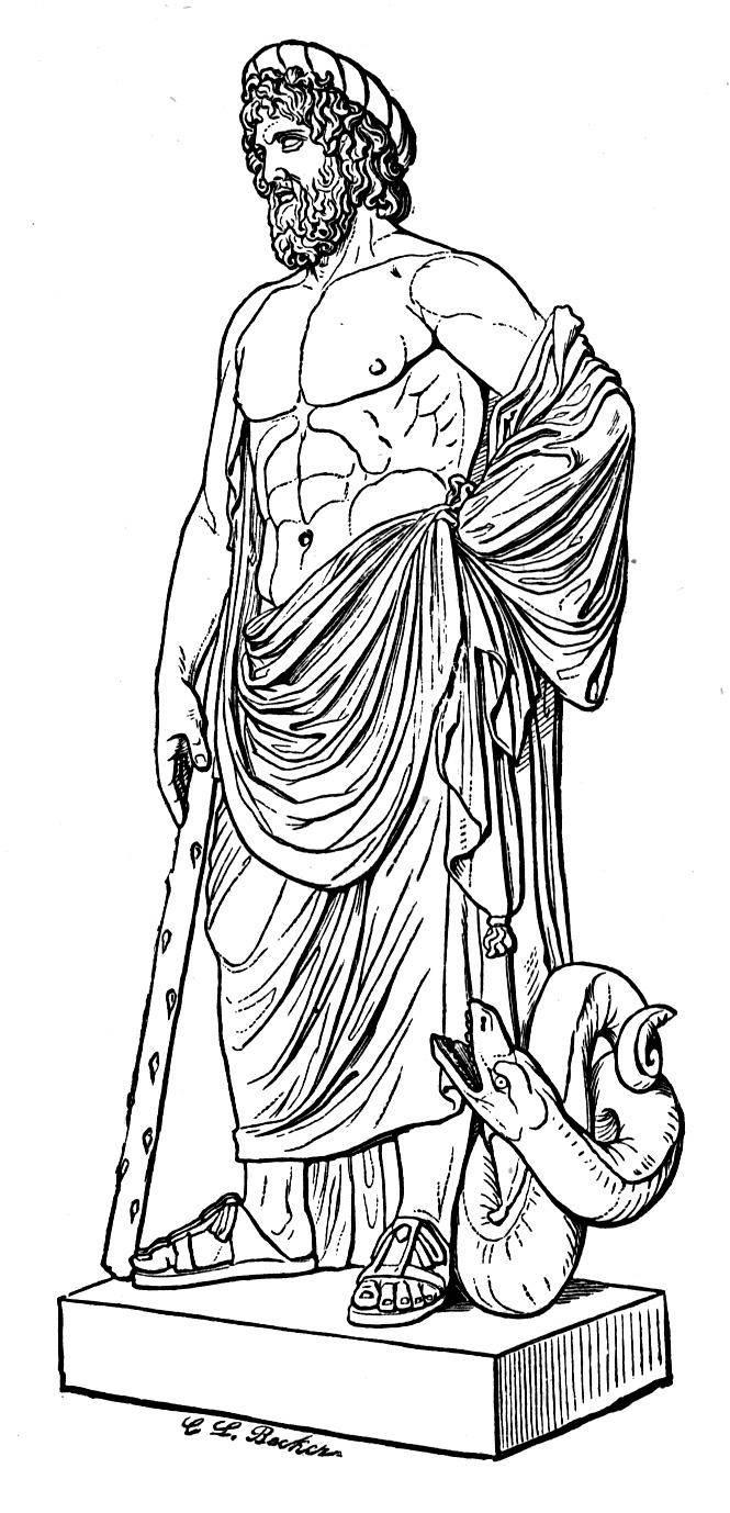 Coloriage Mythologie Grecque #109649 (Dieux et Déesses ...
