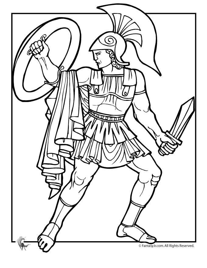 Coloriage Mythologie Grecque #109691 (Dieux et Déesses ...