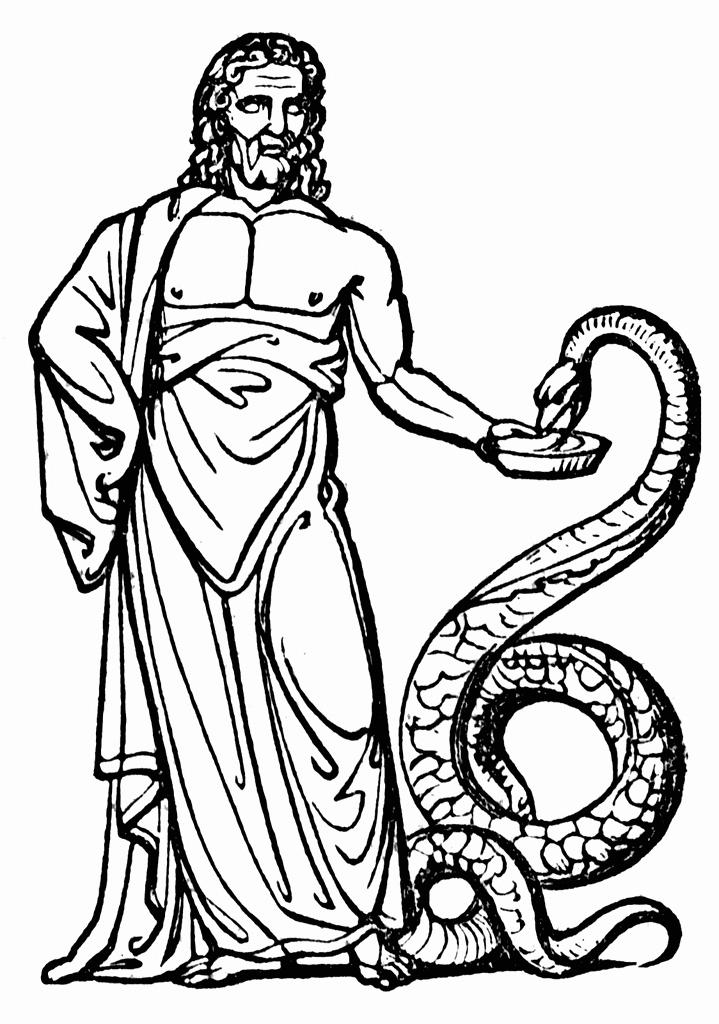 Coloriage Mythologie Grecque #95 (Dieux et Déesses ...