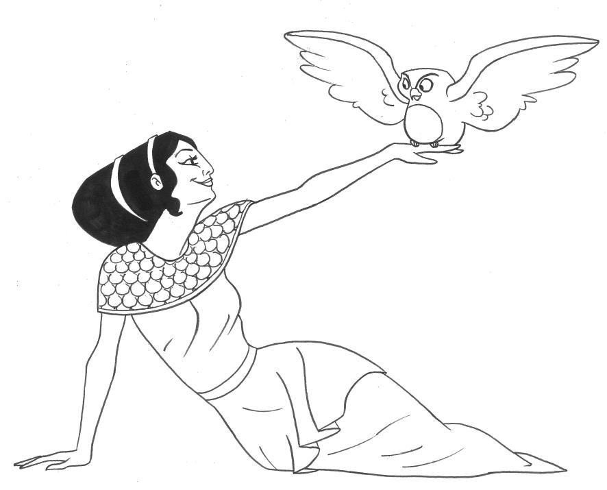 Coloriage Mythologie Grecque #109859 (Dieux et Déesses ...