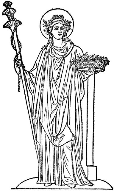Coloriage Mythologie Grecque #109900 (Dieux et Déesses ...