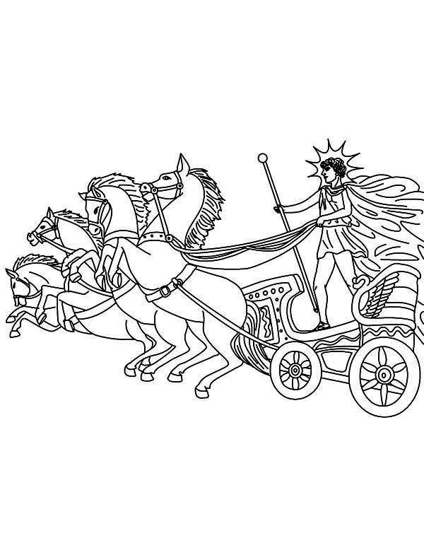 Coloriage Mythologie Grecque #109981 (Dieux et Déesses ...