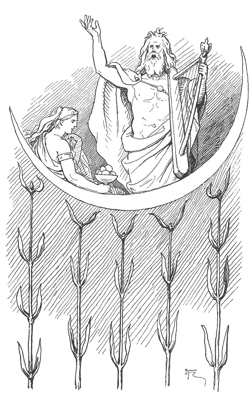 Coloriage Mythologie Nordique #110462 (Dieux et Déesses ...