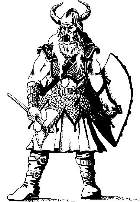 Coloriage Mythologie Nordique #47 (Dieux et Déesses ...
