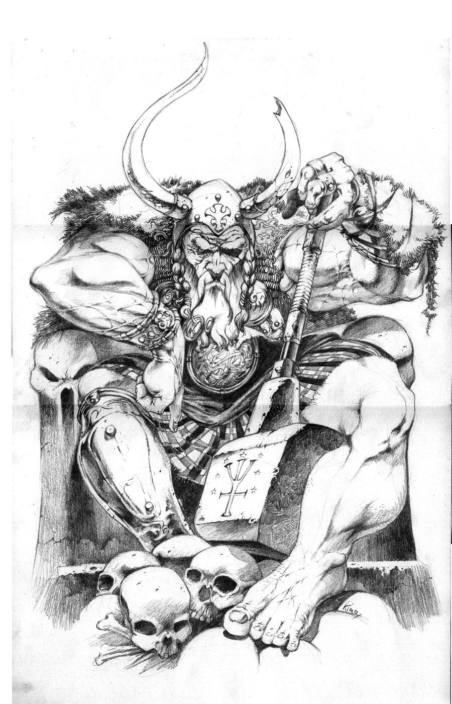 Coloriage Mythologie Nordique #110560 (Dieux et Déesses ...